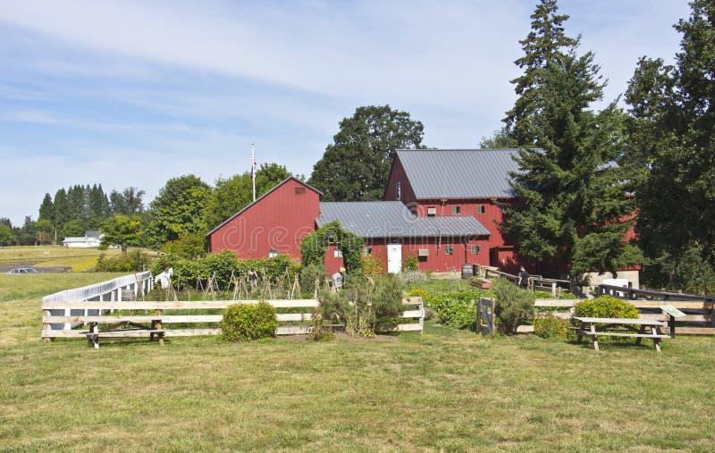 Parque estadual Oregon de Champoeg imagem de stock