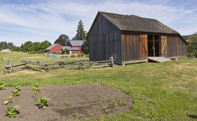 Parque estadual Oregon de Champoeg fotos de stock