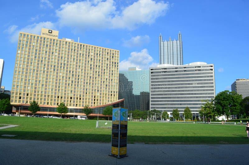 Parque estadual Pittsburgh do ponto imagem de stock royalty free