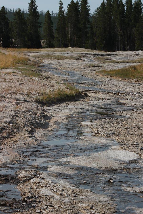 Parque fiel velho - Wyoming foto de stock
