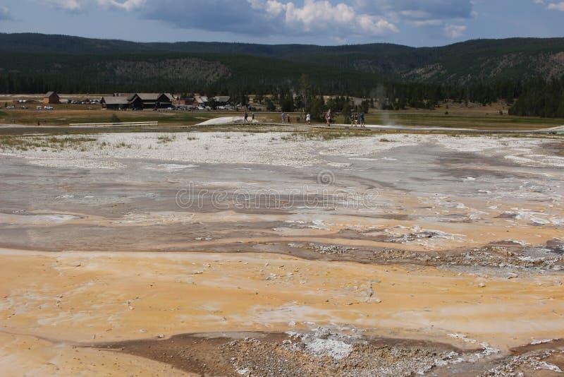 Parque fiel velho - Wyoming fotografia de stock