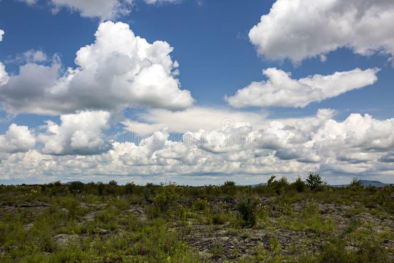 Parque geológico del mundo del wudalianchi de China, reserva de la biosfera del mundo imagen de archivo libre de regalías