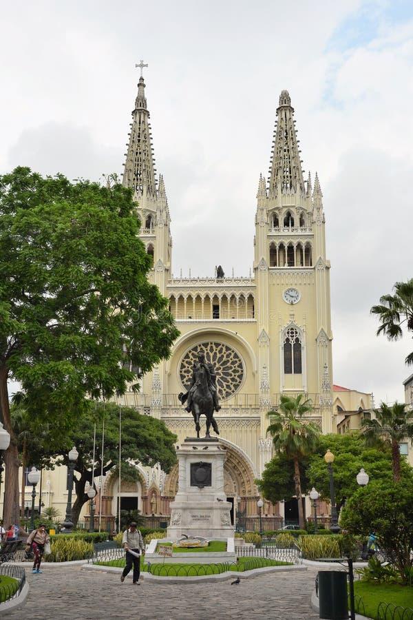 Parque Guayaquil de Seminario imagen de archivo