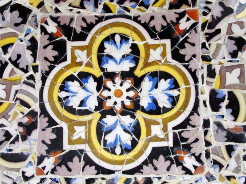 Download Parque Guell foto de stock. Imagem de catalonia, barcelona - 12810494