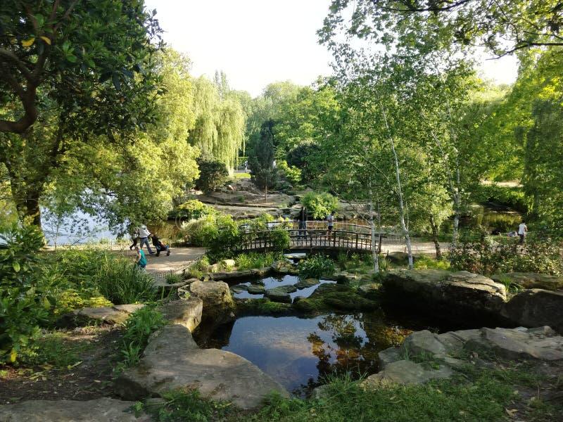 parque hermoso de los regentes imagenes de archivo