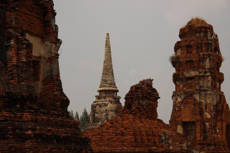Parque histórico com Pogodas velho imagens de stock