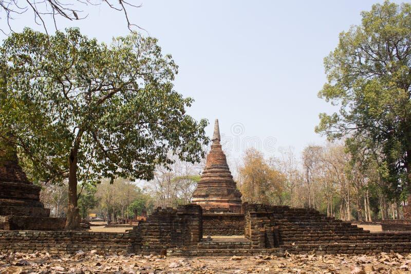 Parque histórico de Kamphaengphet imagens de stock royalty free