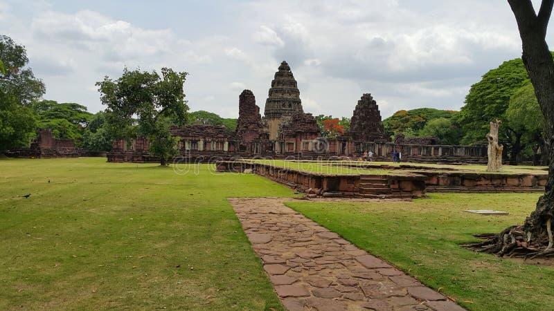 Parque histórico de Phimai fotografia de stock royalty free