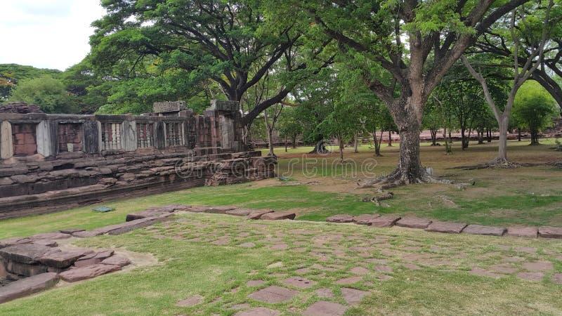 Parque histórico de Phimai fotos de stock