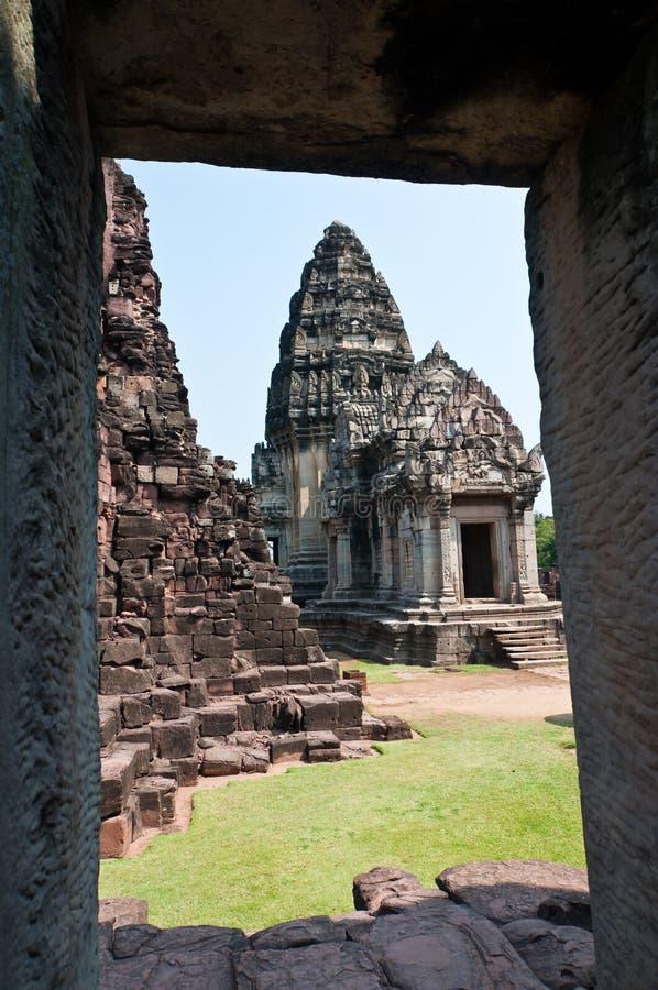 Parque histórico de Phimai imagem de stock royalty free