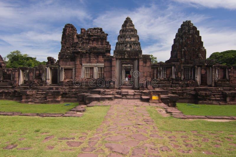 Parque histórico de Phimai imagens de stock