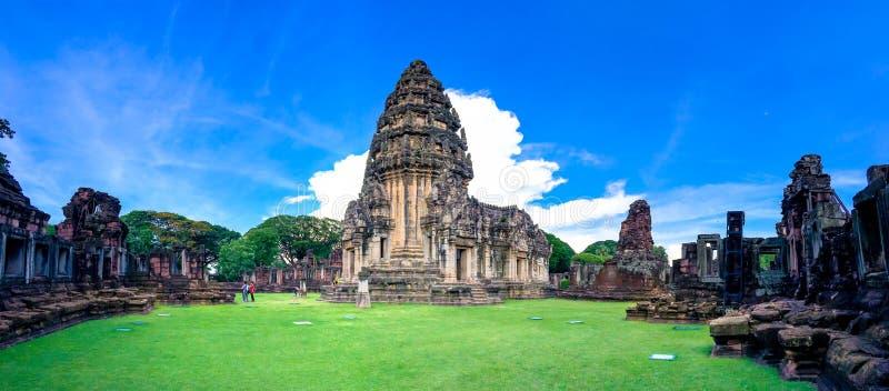 Parque histórico de Phimai fotografia de stock