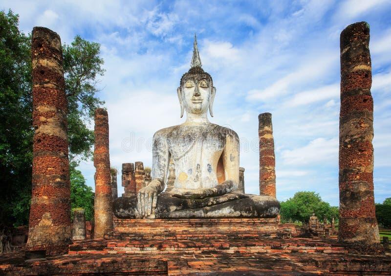 Parque histórico de Sukhothai, Sukhothai Tailândia fotografia de stock