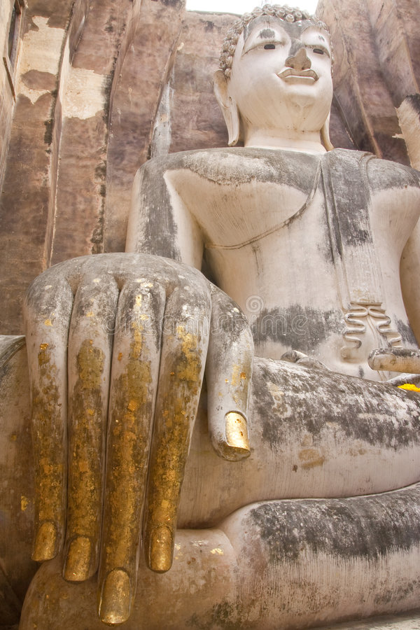 Parque histórico de Sukhothai, Tailândia fotos de stock royalty free
