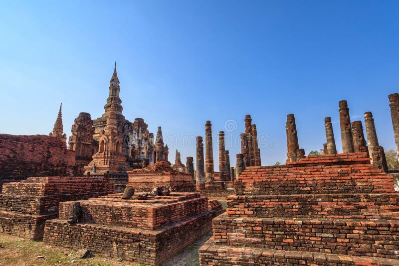 Parque histórico de Sukothai, Tailandia fotos de archivo