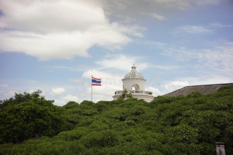 Parque histórico do khiri do nakhon do phra de Khao wang imagem de stock