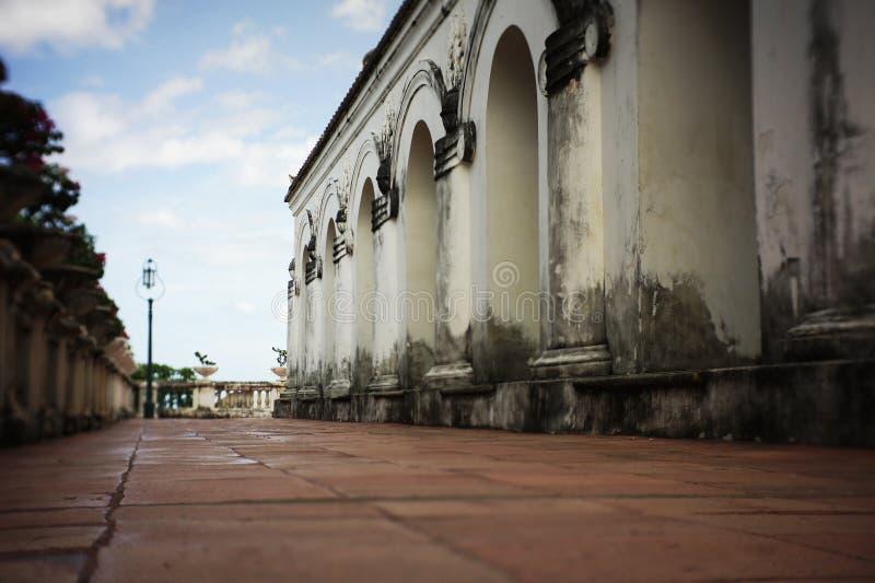 Parque histórico do khiri do nakhon do phra de Khao wang fotos de stock royalty free