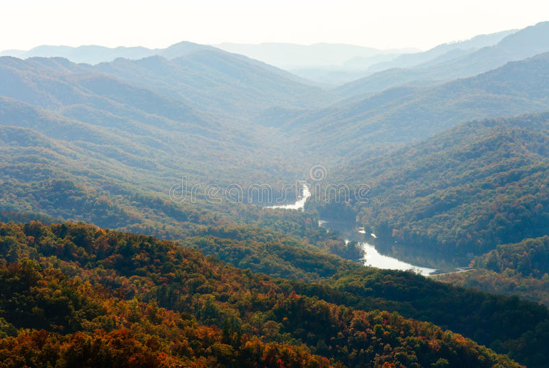 Parque histórico nacional de Cumberland Gap imagem de stock