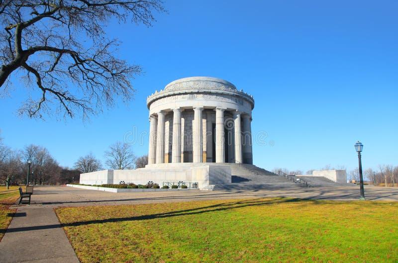 Parque histórico nacional de George Rogers Clark fotos de archivo
