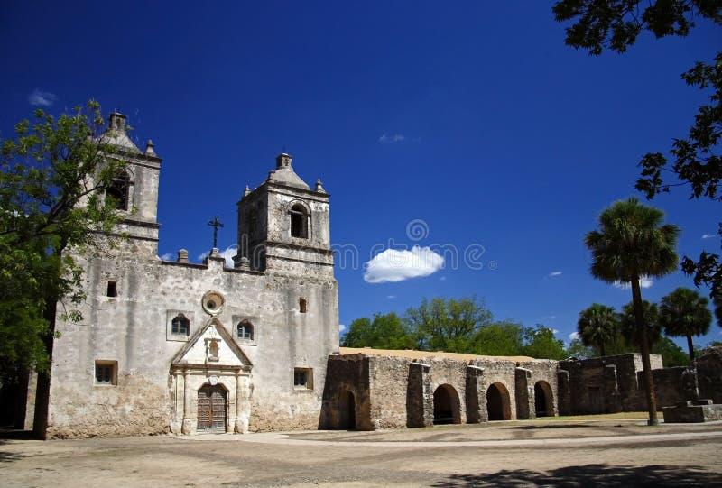Parque histórico nacional de las misiones de San Antonio fotos de archivo