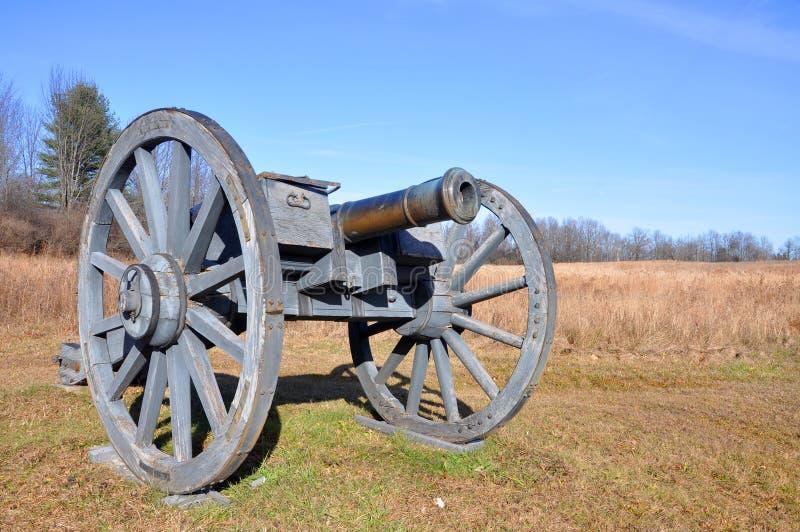 Parque histórico nacional de Saratoga, Nueva York, los E.E.U.U. imagen de archivo