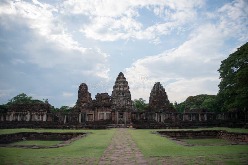 Parque histórico Phimai imagen de archivo libre de regalías