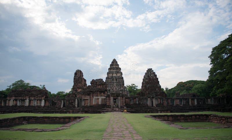 Parque histórico Phimai imagens de stock royalty free