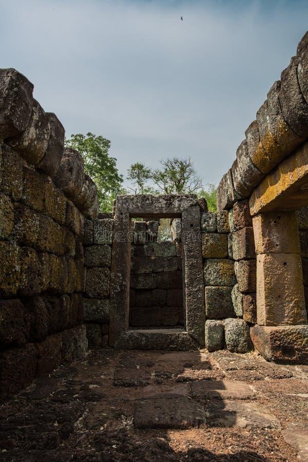 Parque histórico sonado Phanom de Prasat fotos de archivo