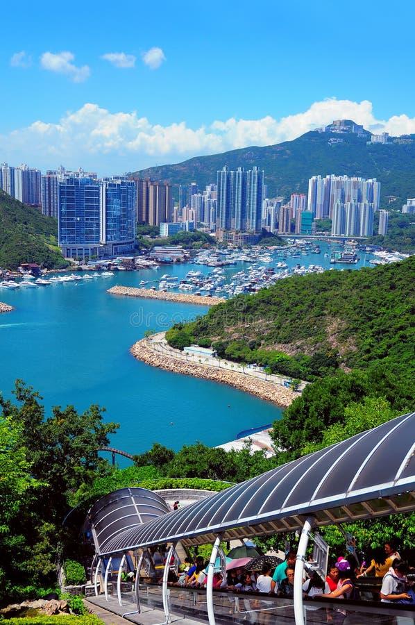 Parque Hong Kong do oceano fotografia de stock