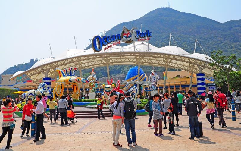 Parque Hong Kong do oceano imagem de stock