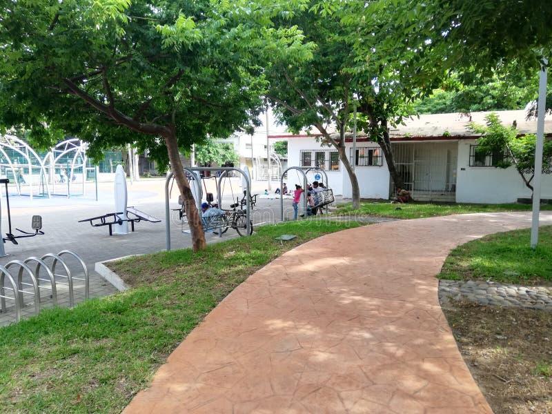Parque infantil imagen de archivo