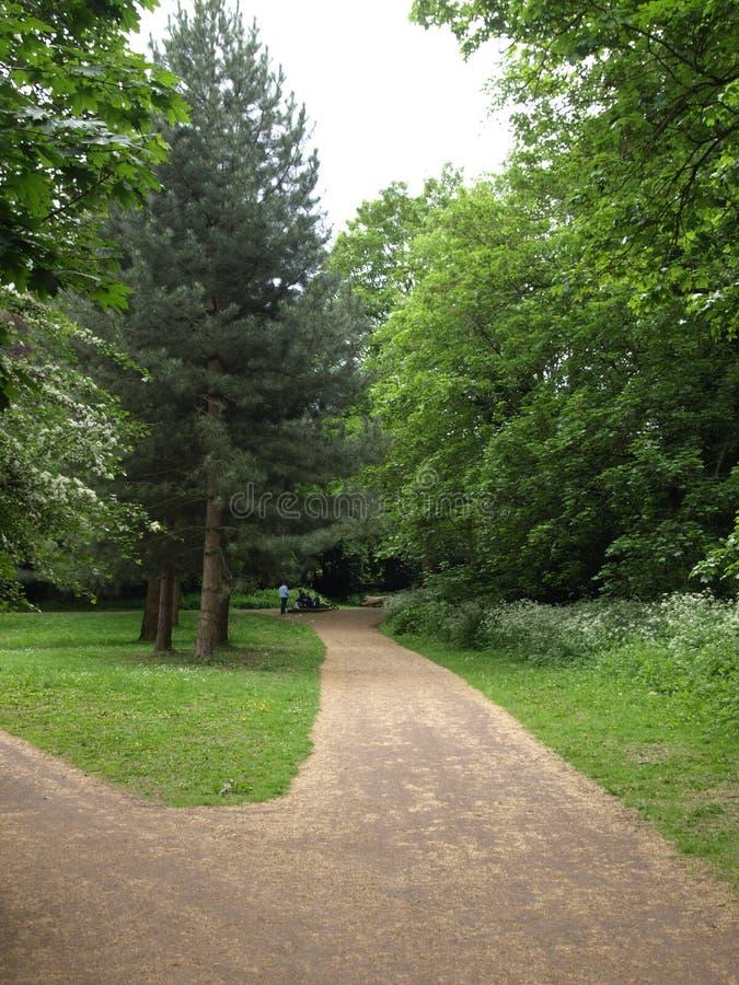 Parque inglés del paisaje del parque de Londres Gunnersbury imágenes de archivo libres de regalías