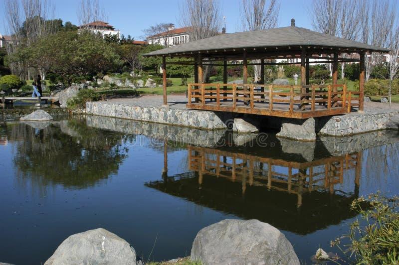 Parque japonês, La Serena Chile imagens de stock