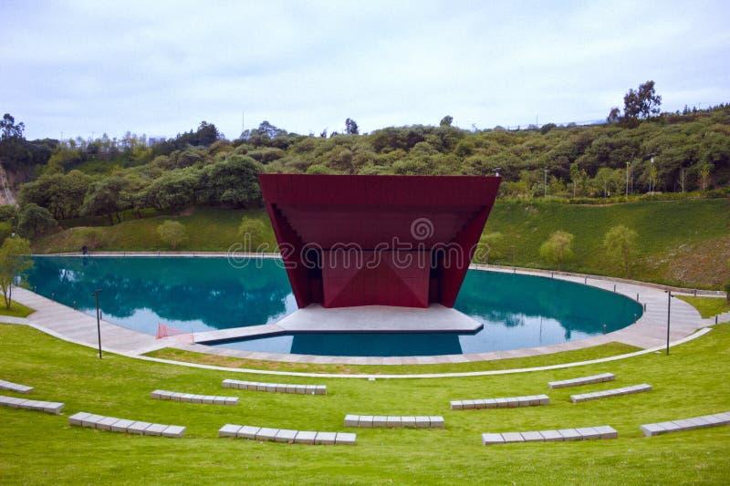 Parque-La Mexicana, mexikanische Parks, Teatro stockbild