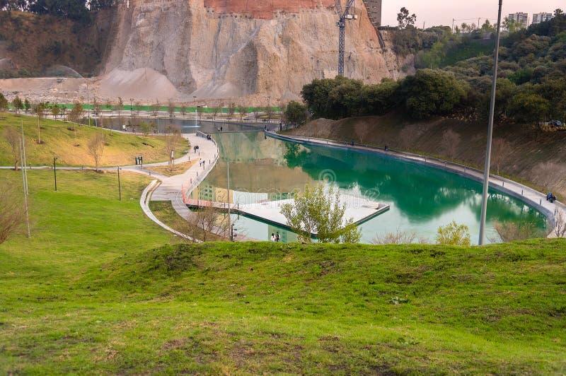 Download Parque La Mexicana, Santa Fe, CDMX Redaktionell Fotografering för Bildbyråer - Bild av affär, downtown: 106834019