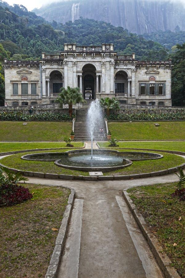 Parque Lage, Ρίο ντε Τζανέιρο στοκ φωτογραφία με δικαίωμα ελεύθερης χρήσης