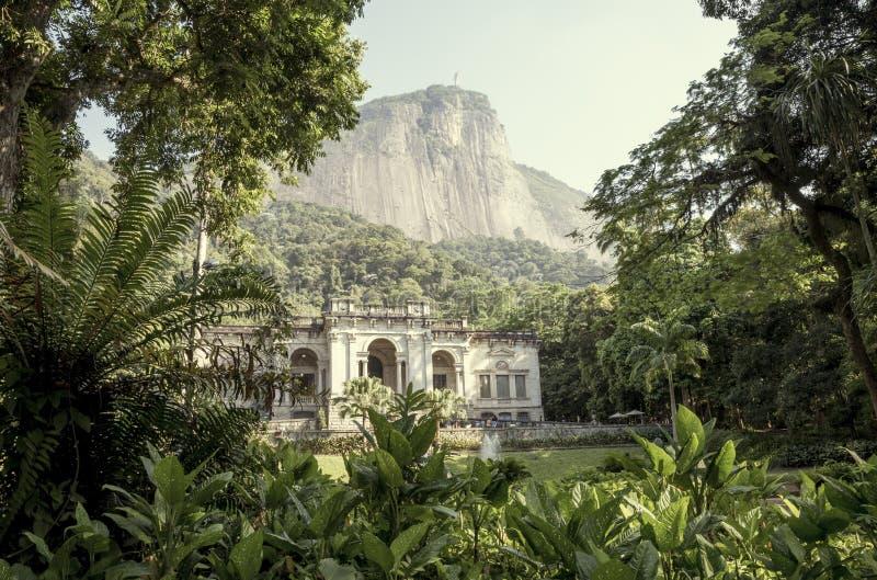Parque Lage w Rio De Janeiro, Brazylia zdjęcia royalty free