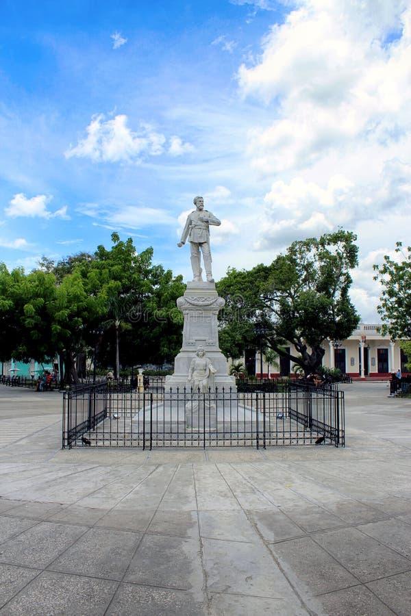 Parque Las Flores dans HolguÃn, Cuba image libre de droits