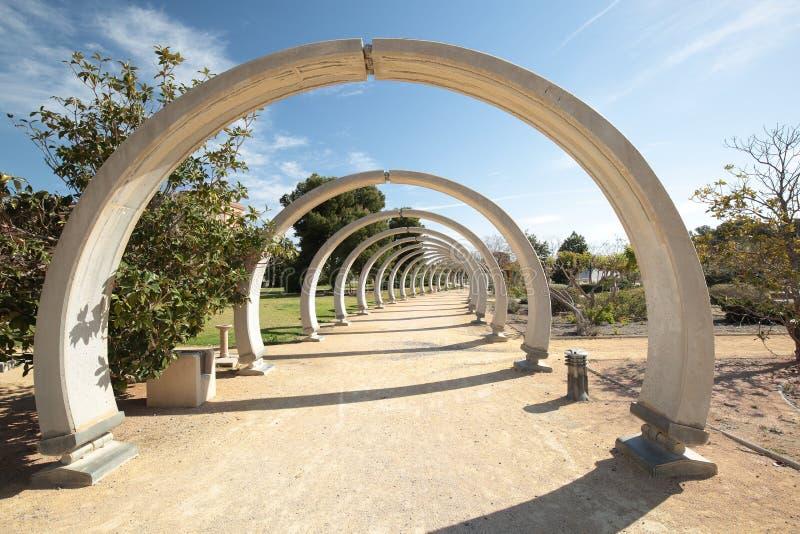 Parque Lo Torrent de San Vicente Del Raspeig imagen de archivo