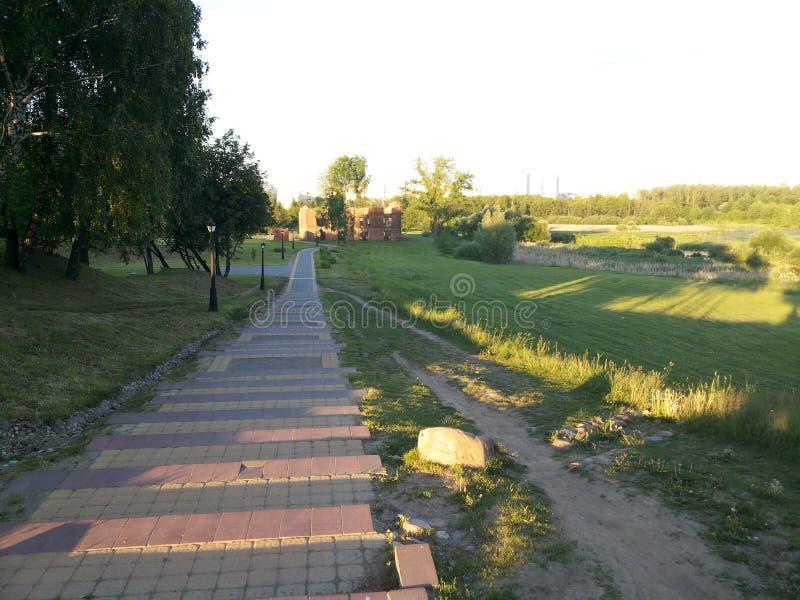 Parque Loshyca Minsk fotos de stock