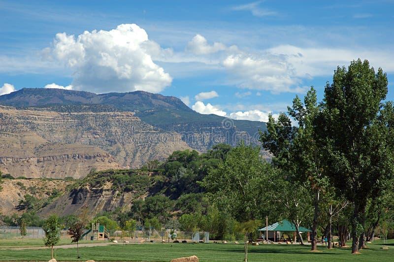 Parque magnífico del Mesa y de Riverbend imágenes de archivo libres de regalías