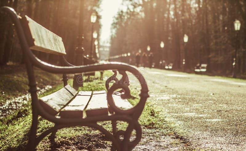 Parque Maksimir Zagreb de la ciudad foto de archivo libre de regalías