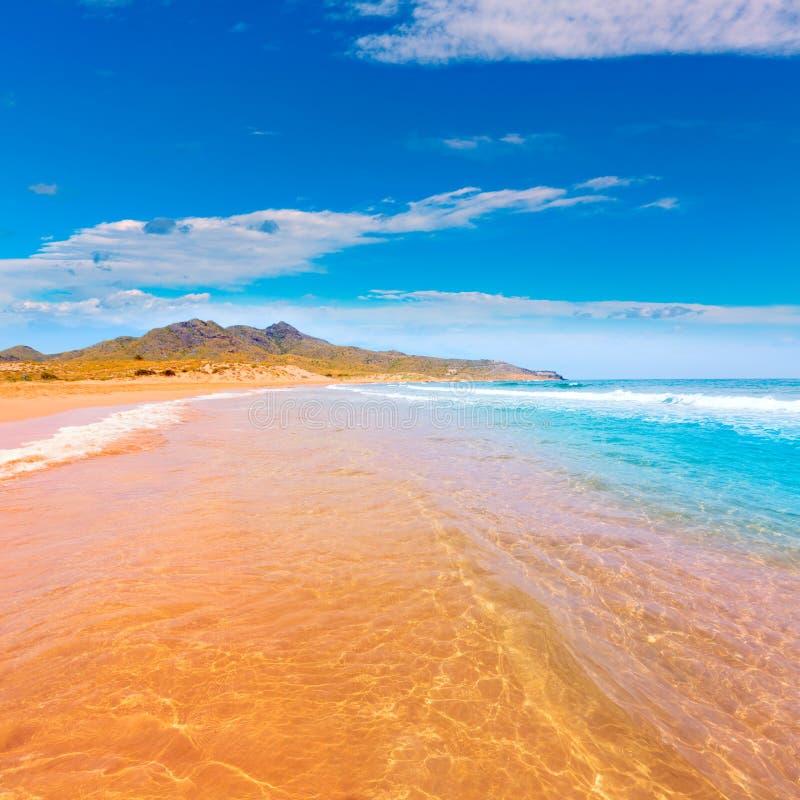 Parque Manga Mar Menor Murcia de la playa de Calblanque fotos de archivo