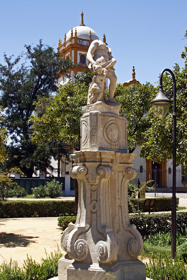 Parque Maria Luisa foto de archivo libre de regalías