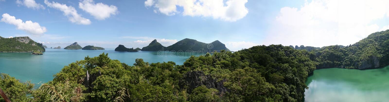 Parque marinho da tanga do ANG - Tailândia fotos de stock