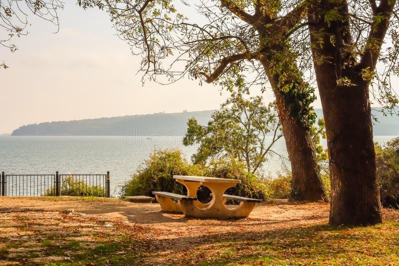 Parque Marinho do Mar Negro Varna, Bulgária fotografia de stock