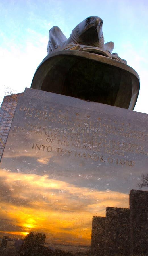 Parque memorável da bateria de WWI NYC imagem de stock