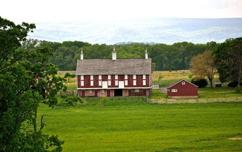 Parque militar nacional de Gettysburg - 055 fotos de archivo