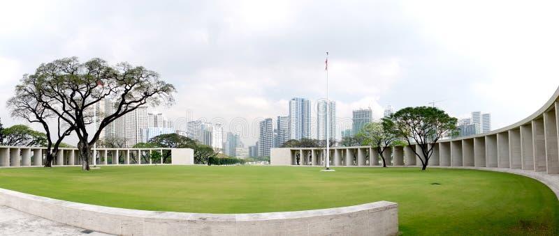 Parque na capital de Manila de Filipinas imagem de stock