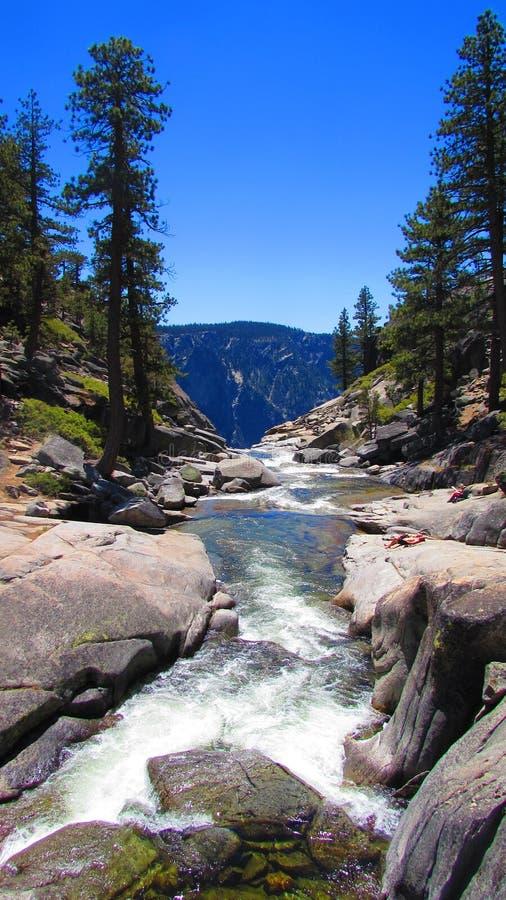 Parque nacional California de Yosemite foto de archivo libre de regalías